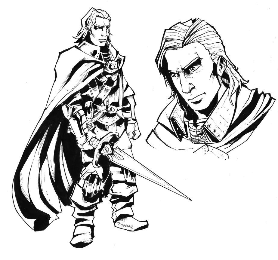 Bishi warrior by R-Daza
