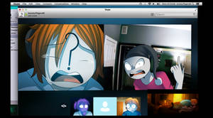 UNFRIENDED (FNAF style) Shot #1 by N-SteiSha25