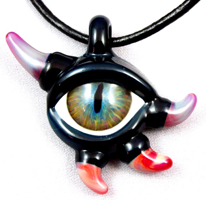 Glass eye pendant by wickedglass on deviantart glass eye pendant by wickedglass aloadofball Choice Image