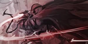 Darkcore Speedpaint by xluxifer