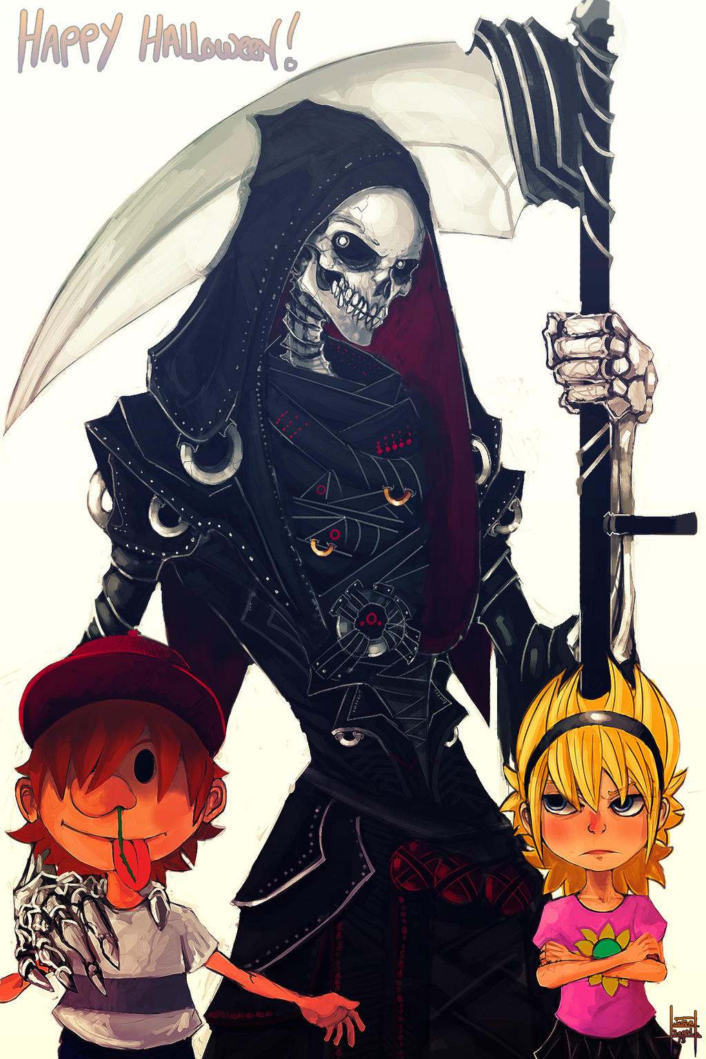 The grim adventures of billy and mandy anime