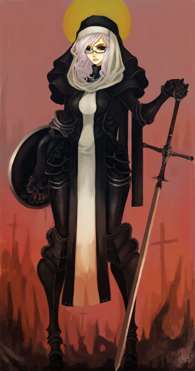 The Holy Blade of Ecclesia by xluxifer