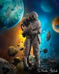 Lovely Astronaut Photoshop Manipulation