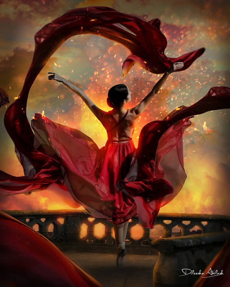 Dancer Photoshop Manipulation