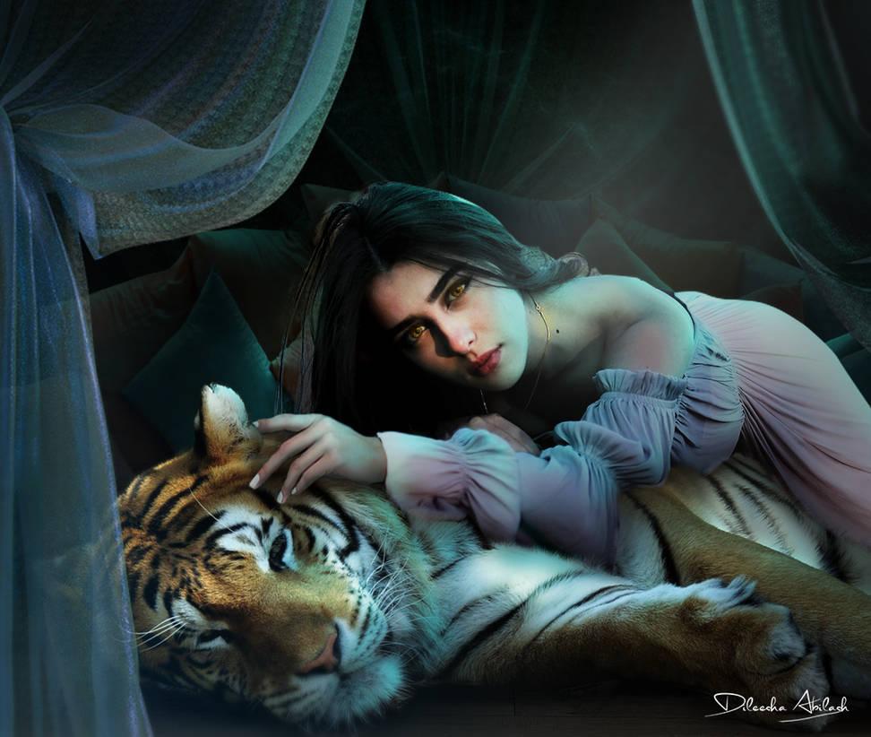 Princess Jasmine Photoshop Manipulation