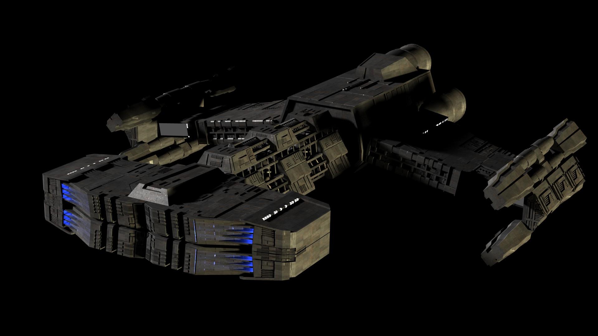 Terran Battlecruiser SC2