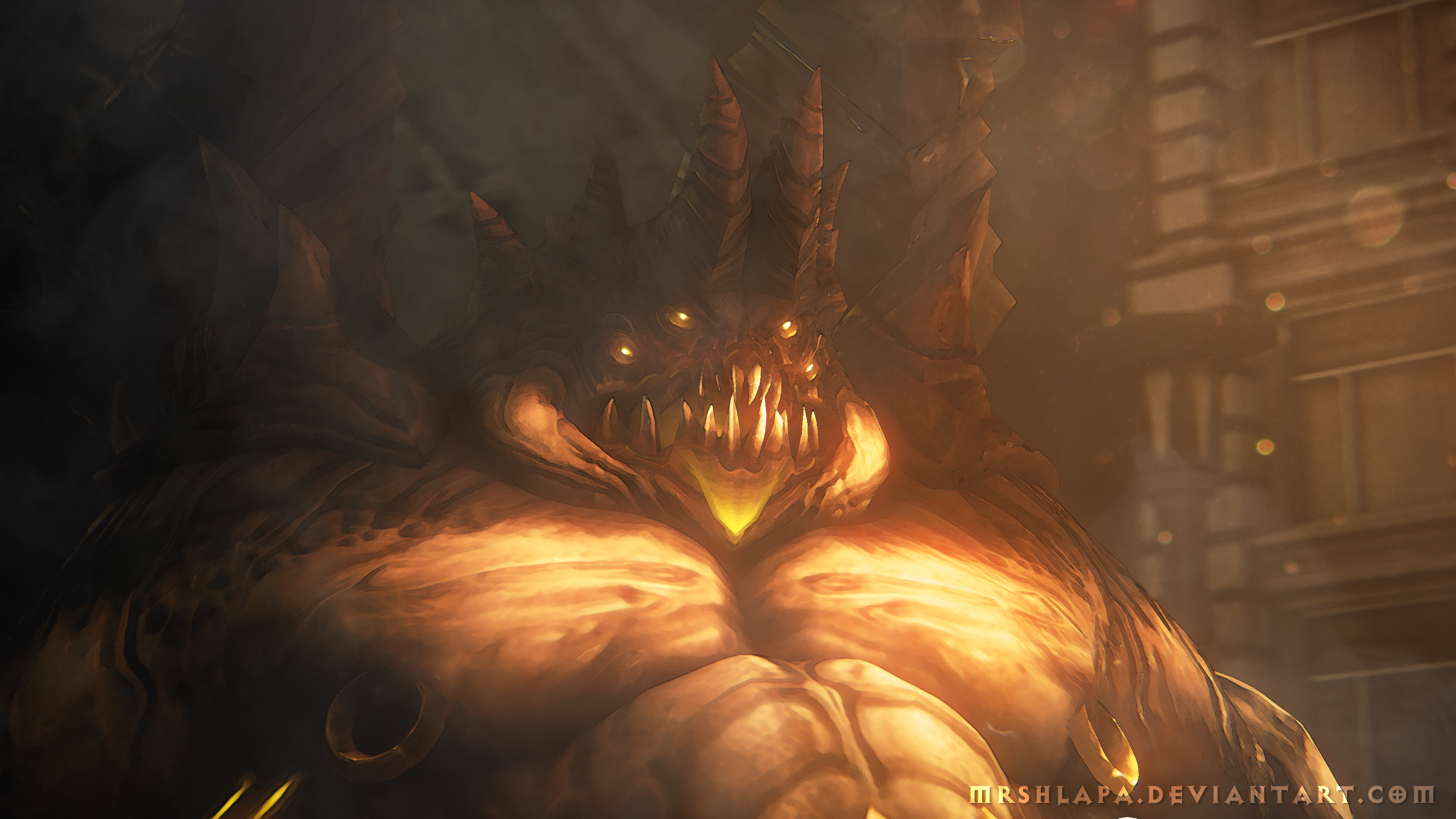 Diablo 3: Azmodan by MrShlapa