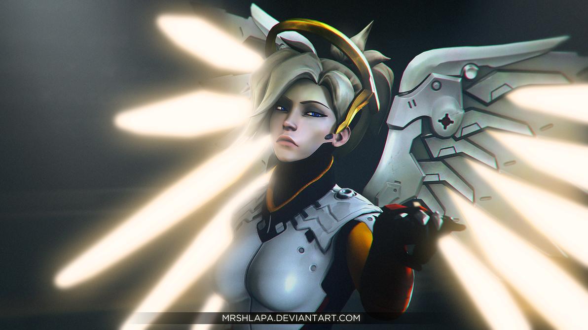Overwatch: Mercy by MrShlapa