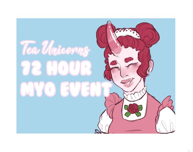 Tea Unicorns - 72 hr MYO event [CLOSED] by princekaiju