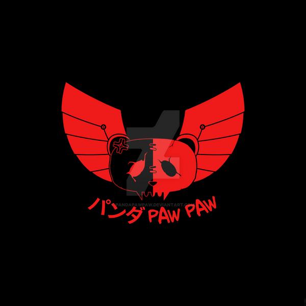 Panda Paw Paw Winged Bison Design (Red) by PandaPawPaw