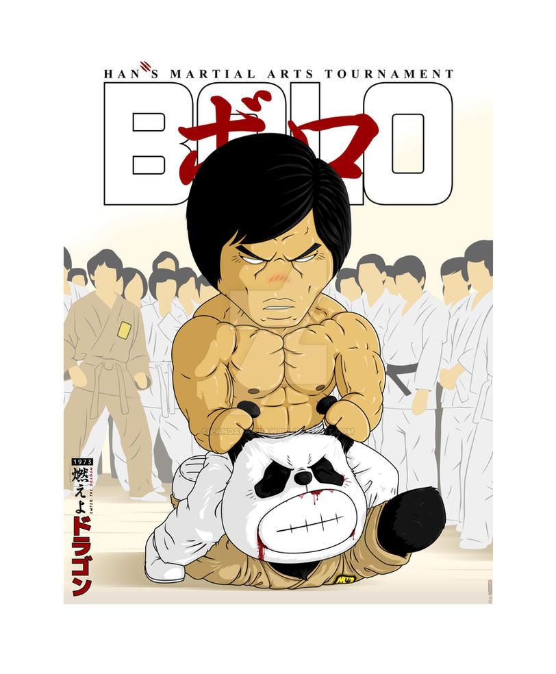 Bolo - Enter the Dragon by PandaPawPaw