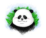 Panda Tablet Sketch 290120 by PandaPawPaw