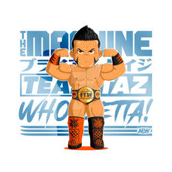 'The Machine' Brian Cage (AEW)