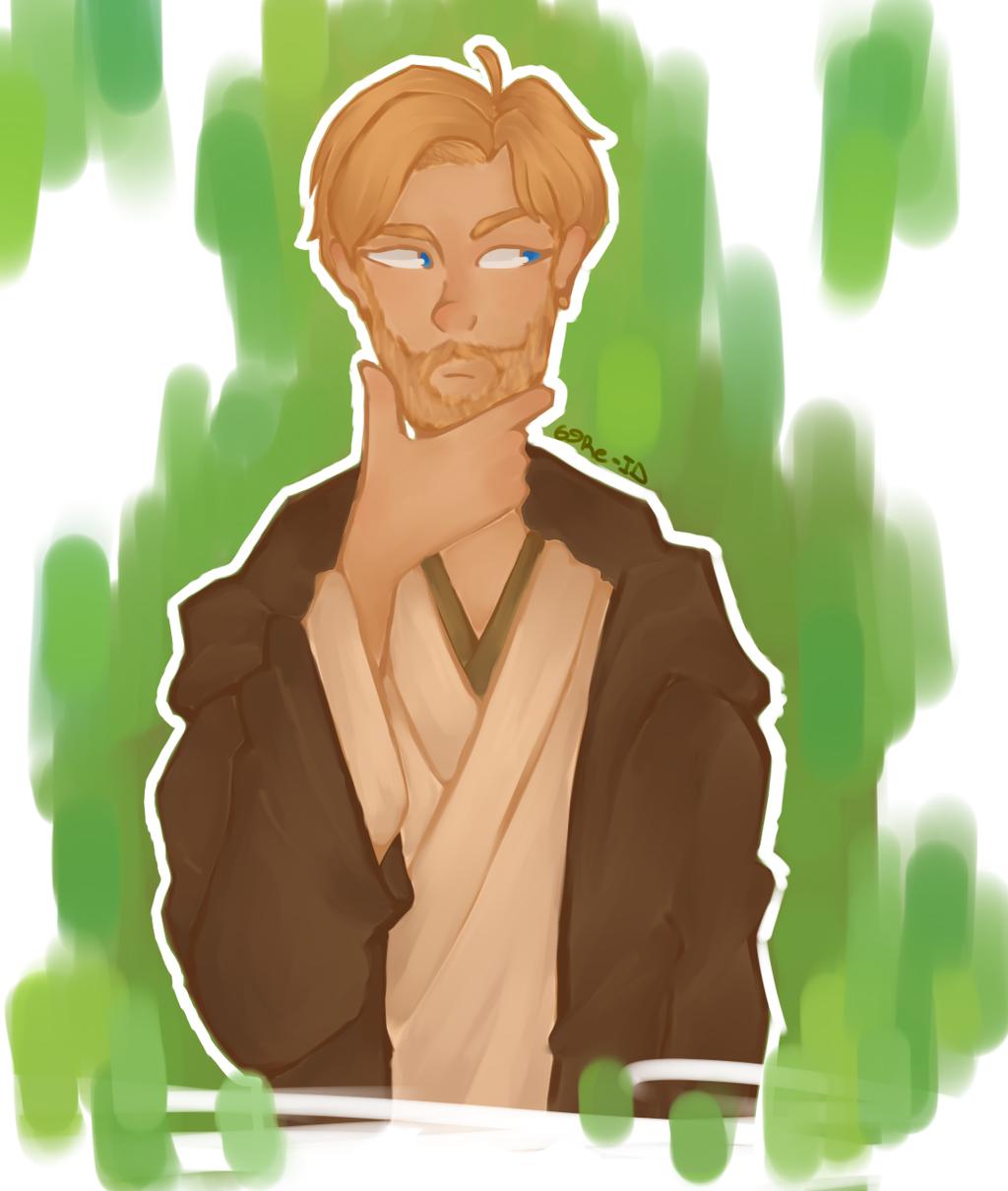 Obi-Wan Kenobi by 69Re-ID