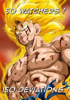 [50 Watchers and 150 Devs Special !]: SSJ Goku