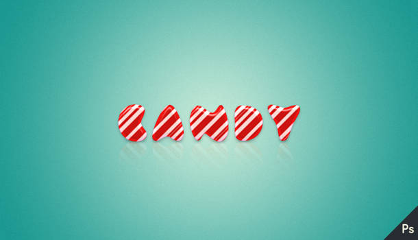 Candy Text Effect (Tutorial)