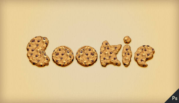 Tutorial: Cookie Text Effect