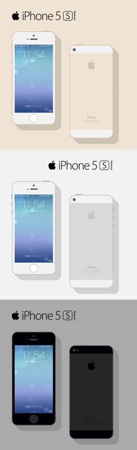 Freebie: iPhone 5s Mockup