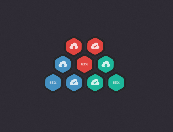 Freebie: Upload Buttons by PsdChat