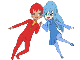 Fireboy and Watergirl Gift~