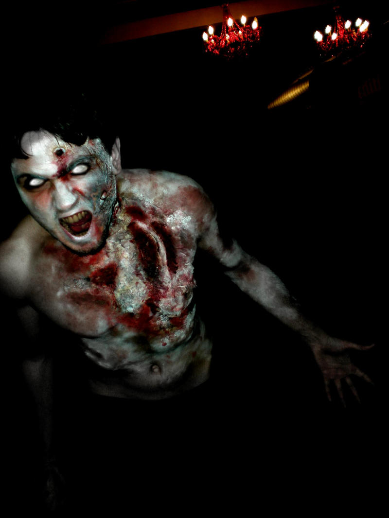 Zombie Resident Evil by FraGatsu