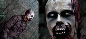 Zombie make up 2 by FraGatsu