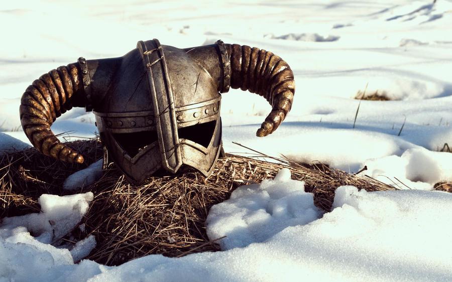 Iron Helmet Skyrim by FraGatsu