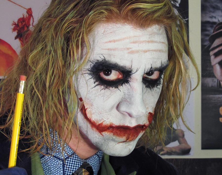 The Joker Makeup Photo Tutorial - Makeup Vidalondon