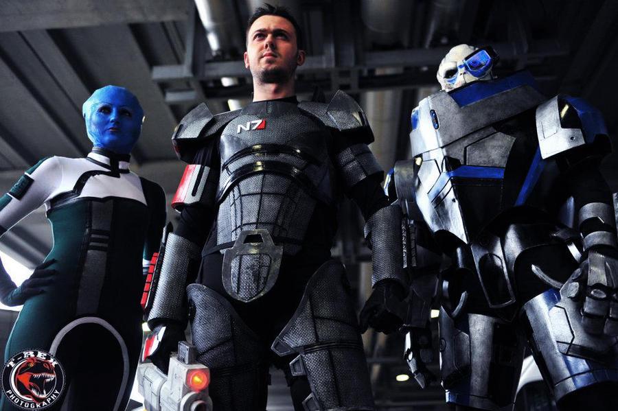 Mass Effect by FraGatsu