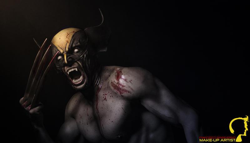 Wolverine MakeUp by FraGatsu