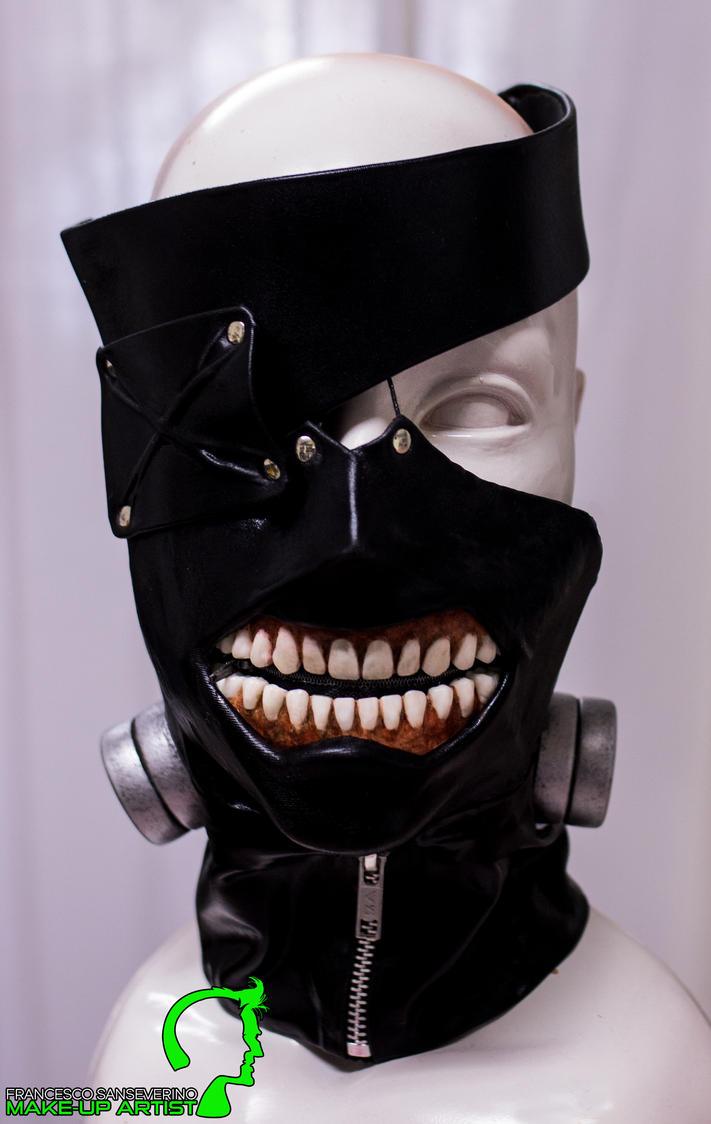 Tokyo Ghoul - Kaneki mask by FraGatsu