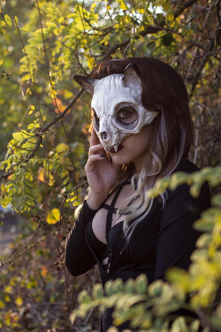 Cat Skull Mask by FraGatsu