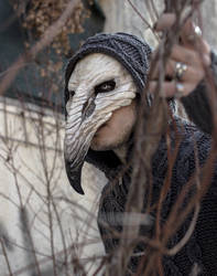 Pestilence Crow Mask