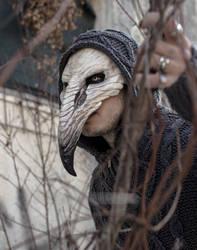 Pestilence Crow Mask by FraGatsu