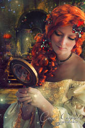 The Mirror's autumn by CoraGraphics
