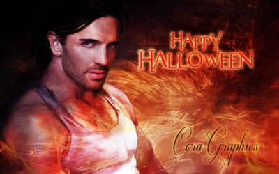 Wallpaper Halloween by CoraGraphics