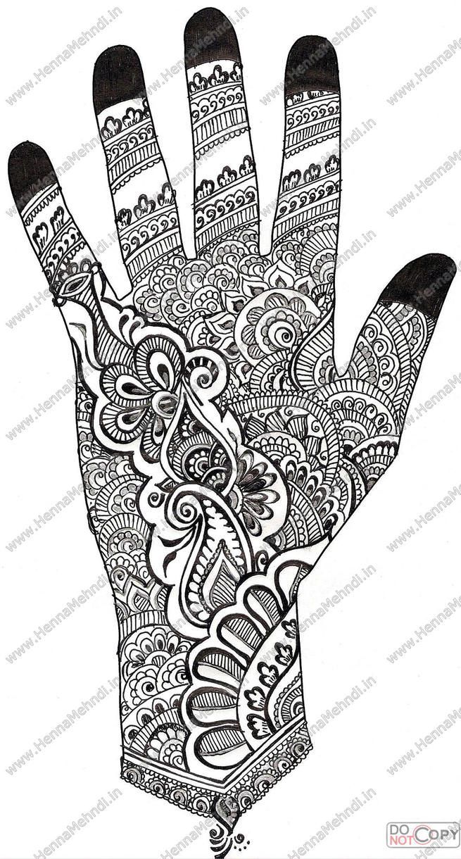 Henna Mehndi Symbols Designs and Patterns.
