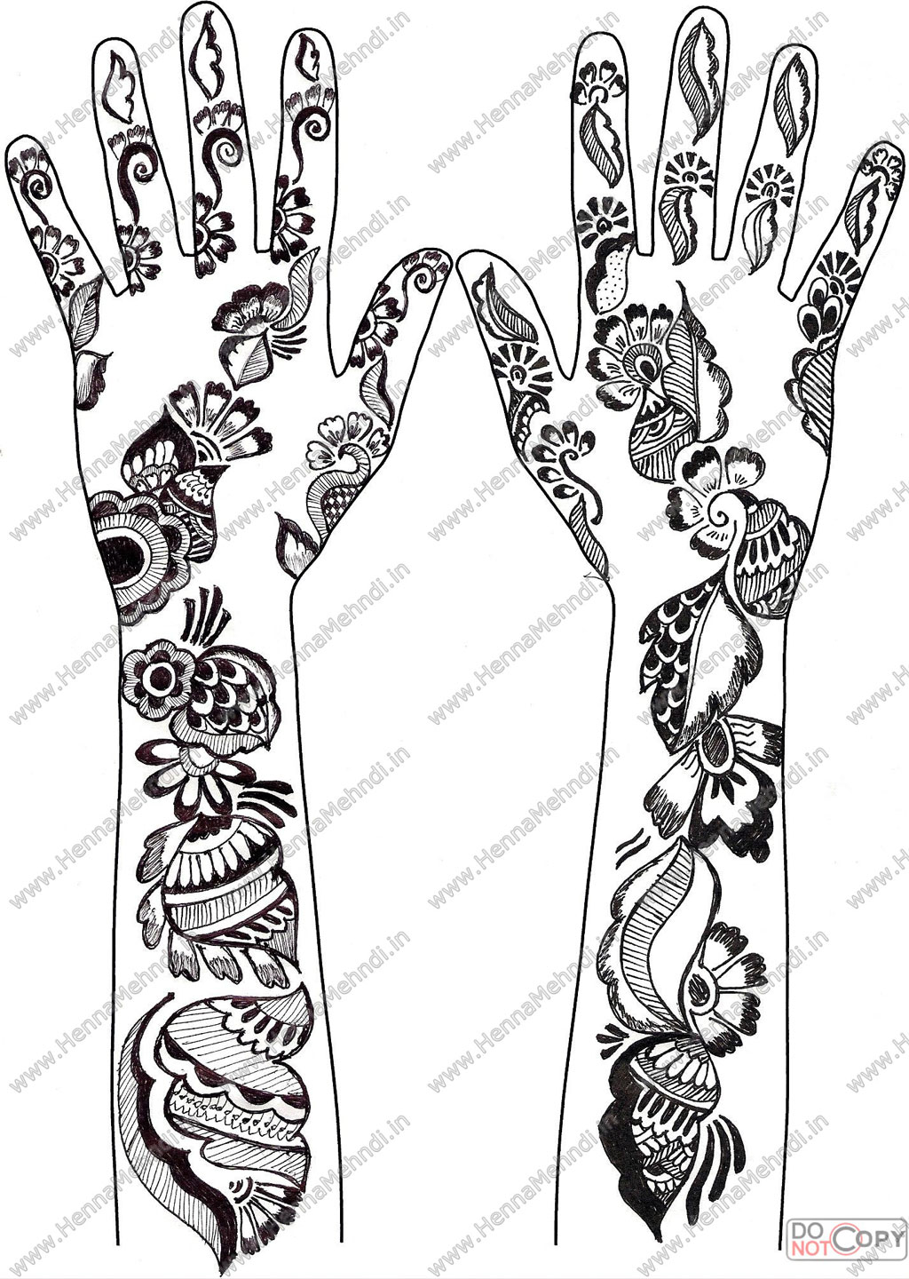 henna mehndi designs7 by hinasabreen on deviantart