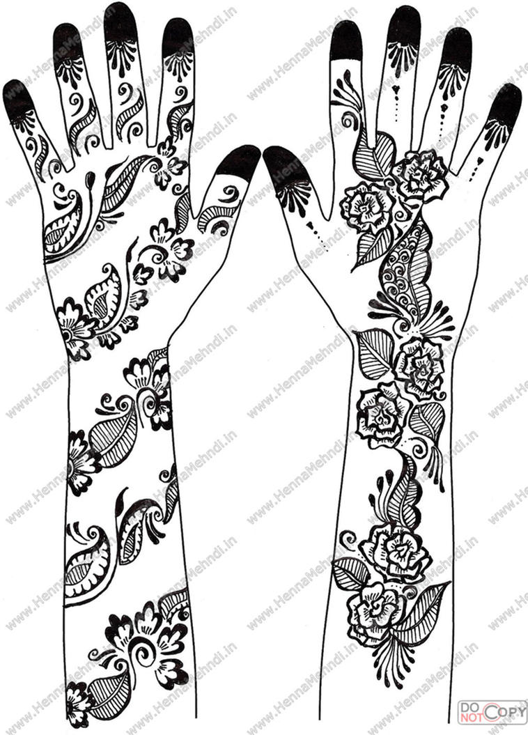 Mehndi Designs Arabic Video for Hands Simple and Easy 2013 For hand ...