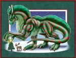 Decembra the Christmas Dragon