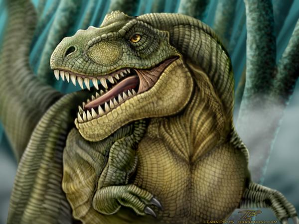 Tyrannosaurus Rex by DragonosX