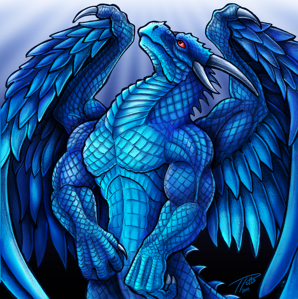 Dragon Ascendant  Color by DragonosX on DeviantArt