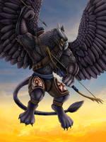 Griffin Sky Sentinel by DragonosX