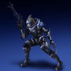 Garrus Vakarian - Mass Effect 3