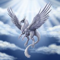 Seraph Dragon by DragonosX