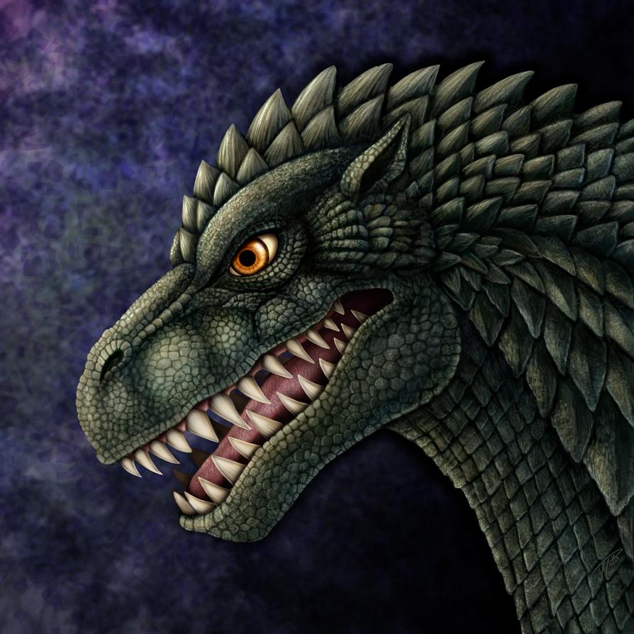 Millennium Godzilla Portrait by DragonosX