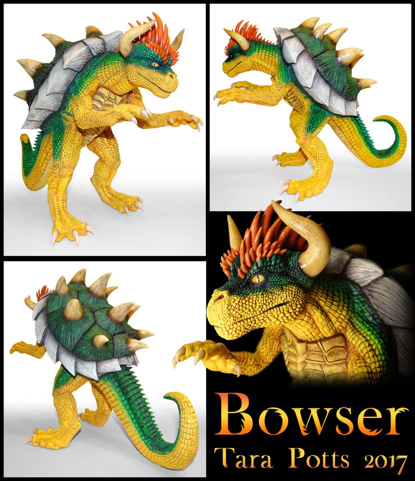Bowser Sculpt by DragonosX