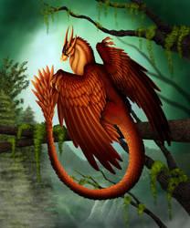 Phoenix Dragon by DragonosX