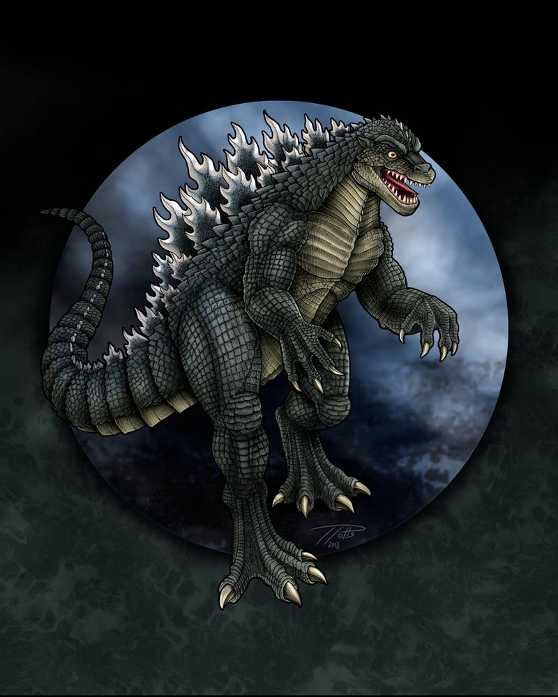 Godzillasaurus Concept by DragonosX