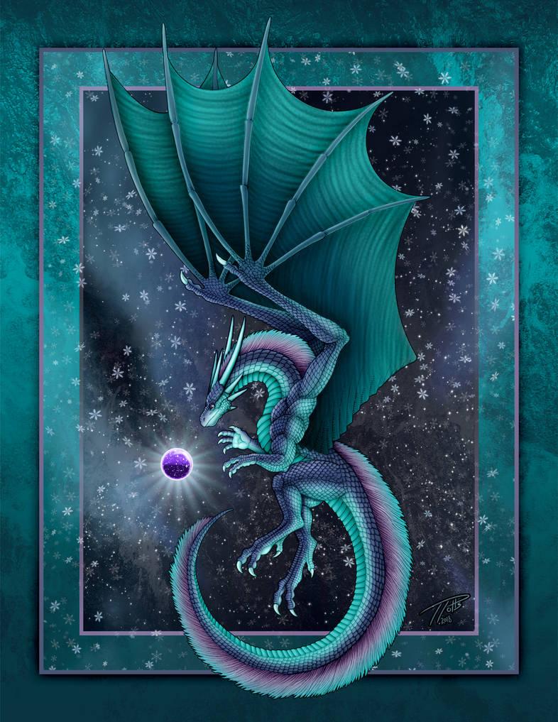Christmas Dragon 2018 by DragonosX